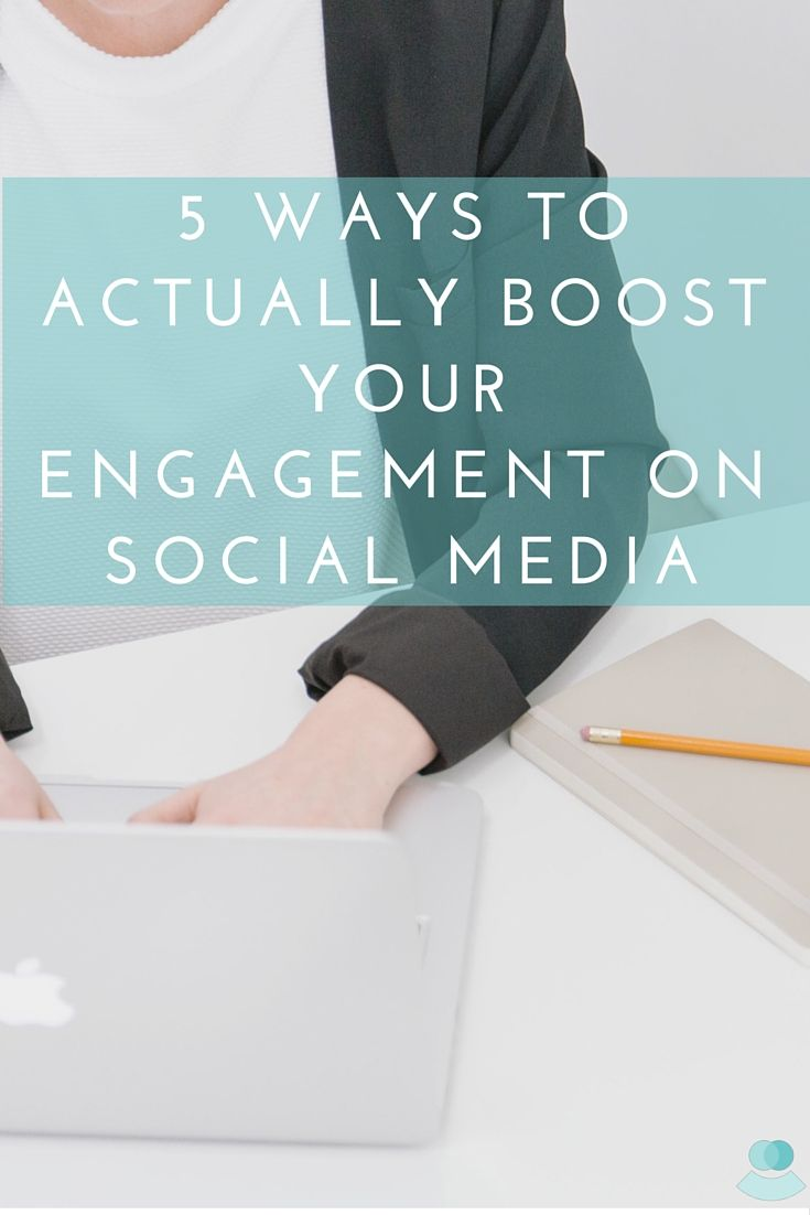 Having trouble with engagement on Social Media? Check out these 5 tips to help boost your online marketing efforts!