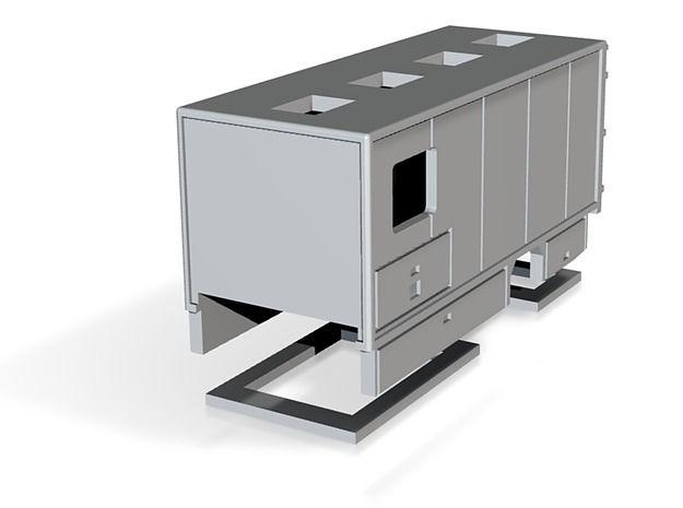 Aufbau Gerätewagen Atemschutz 1:87 by Christian_Mueller