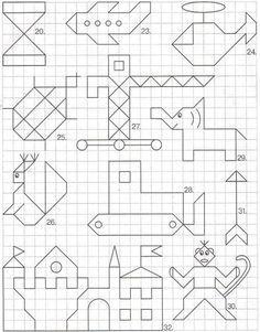 Предлагаем взять на заметку отличную развивающую игру, которая поможет хорошо провести время в очереди, длительном переезде, пребывании в самолете или поезде. Эта игра называется графический диктант.