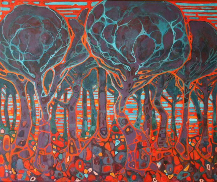 Kveld - Sissel Endresen - evening - trees - forest