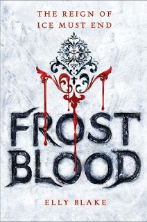 The Eater of Books!: Review: Frostblood by Elly Blake