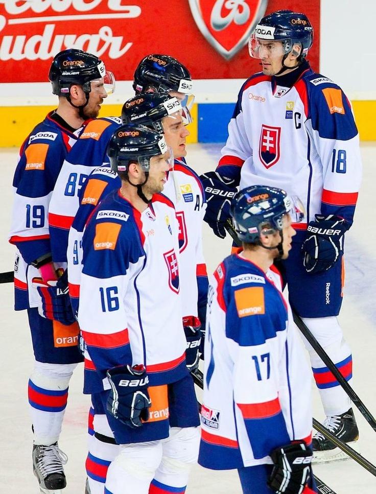 Slovakia's Hockey Team