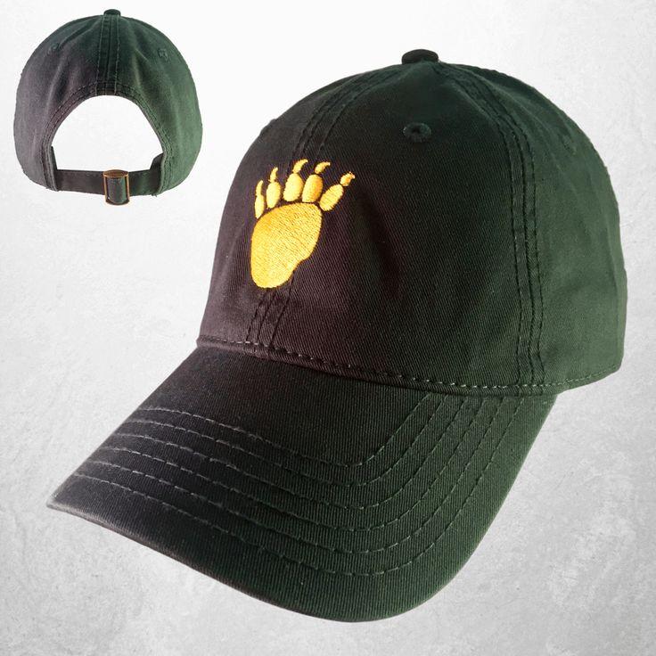 The Waco Bear Claw Hat - Green