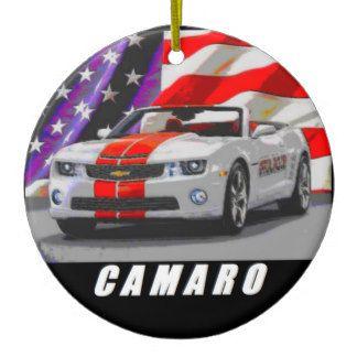 2011 Camaro Pace Car Convertible Ceramic Ornament