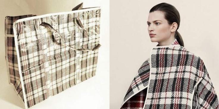 torba bazarowa / płaszcz Céline, jesień 2013