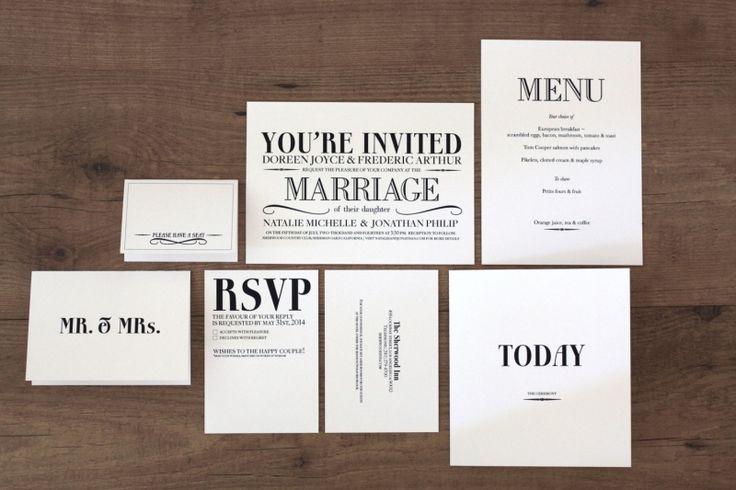 Diy Wedding Invitations Kits