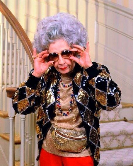 Yetta | 16 Reasons Why Grandma Yetta Had The Most Swag In The Fine Family