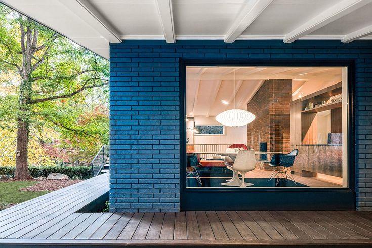 A Mid-Century Modern Recreation: Ocotea House Renovation in Raleigh