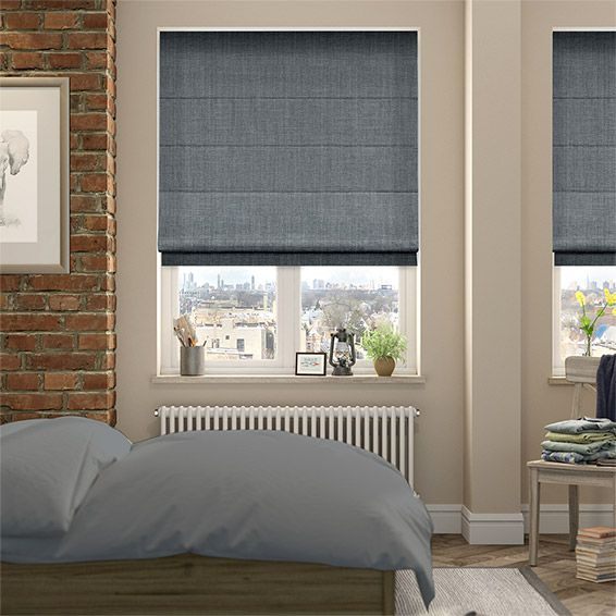 17 best images about roman blinds with curtains on. Black Bedroom Furniture Sets. Home Design Ideas