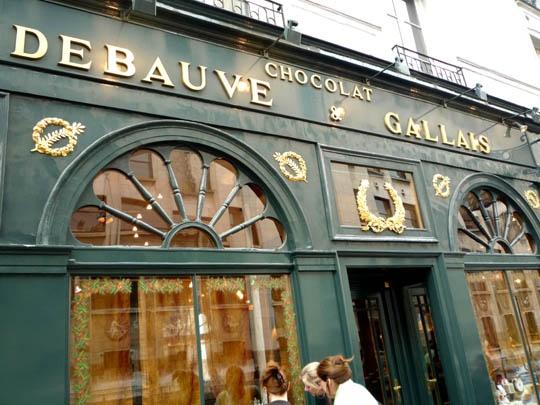 Paris Chocolate Shop  Where I purchased Earl Grey Tea