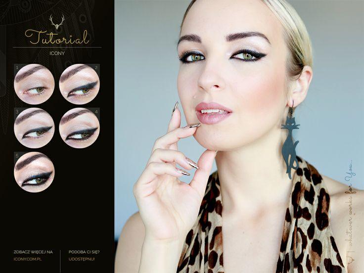 Cat's Eyes #tutorial #makeup #blogicony