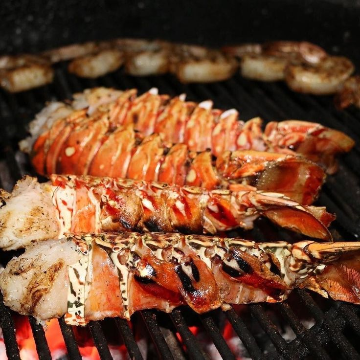 Great looking lobster tails and shrimp over charcoal. Some good inspiration heading into the weekend. . . Shout out to @grillseeker. Check out Matt's feed if you haven't already! . . . #Barbecue #BBQ #BBQPorn #seafood #Carne #Carnivore #Food #Foodgasm #Foodie #Foodies #FoodPhotography #FoodPics #FoodPorn #Foodstagram #ForkYeah #GlutenFree #Grill #Instafood #Meat #liveauthentic #eeeeeats #feedfeed #onthetable #f52grams #huffposttaste #buzzfeast #Lobster #Lobsters #LobsterSeason #Scampi