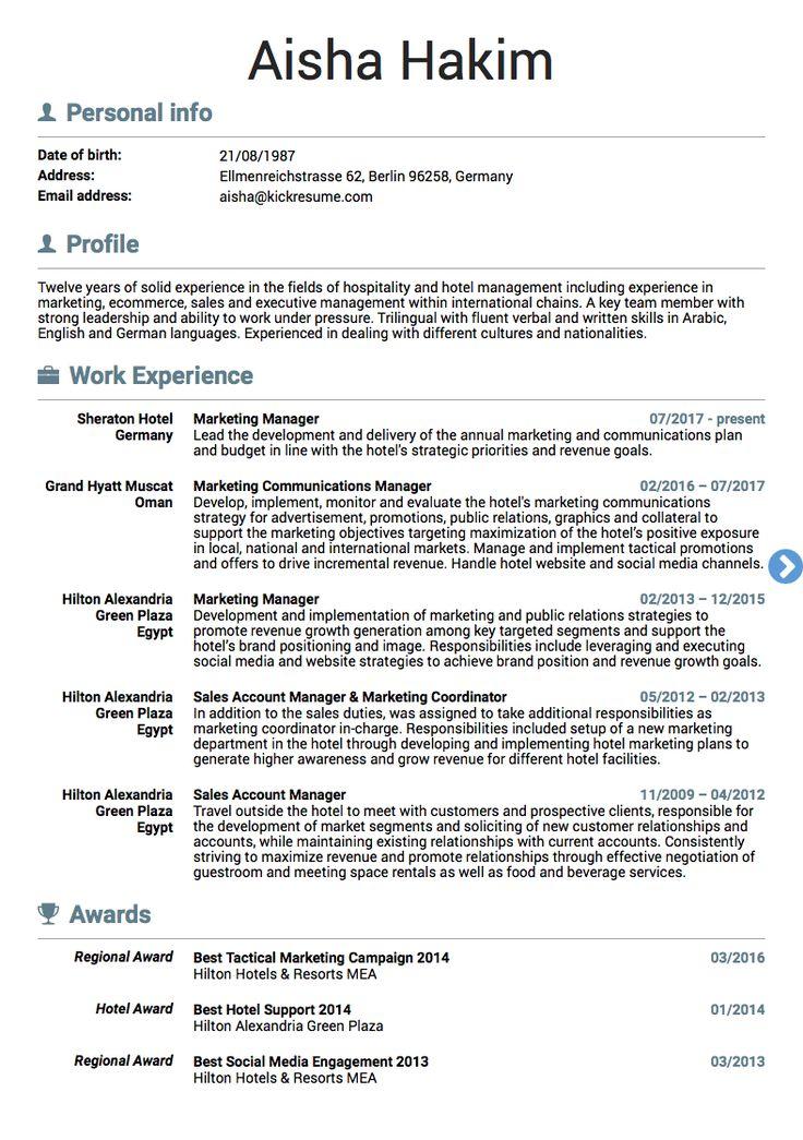 Marketing director resume template marketing resume