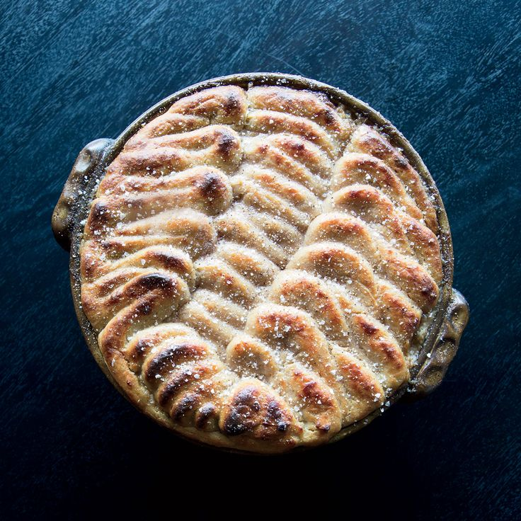 You won't miss the meat in Food & Wine's deeply flavored vegetarian pie from star chef Grant Achatz.