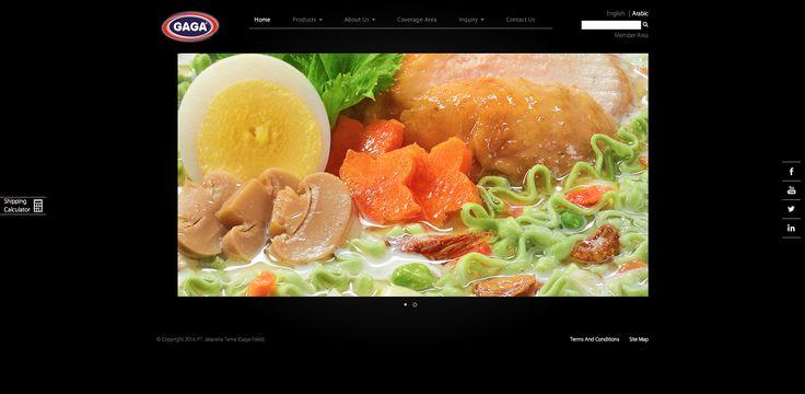Website Corporate - GAGA Food   PT.Jakarana Tama ver 1.0 http://www.gagafoods.com #WebDesign #WebDevelopment #GAGAfood #PT_Jakaranatama #Jasa_Pembuatan_Website #WebCorporate