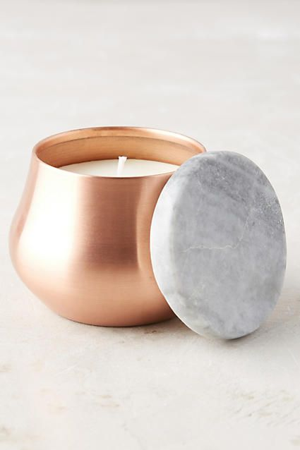 Burnished Candle - anthropologie.com