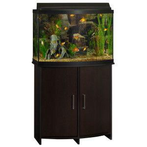 Top Fin® Bowfront Aquarium Stand | Aquarium Stands | PetSmart