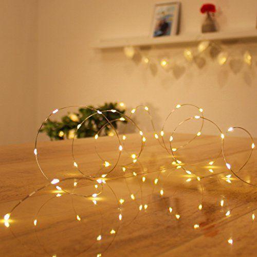 Micro LED lichterkette warmweiß Draht-Lichterkette Leuchtdraht mit mini Tropfen auf Silberdraht Weihnachtsbeleuchtung (60er LED 3m Batterie), http://www.amazon.de/dp/B01M13II9V/ref=cm_sw_r_pi_awdl_x_aQ3bybNBNDMTR