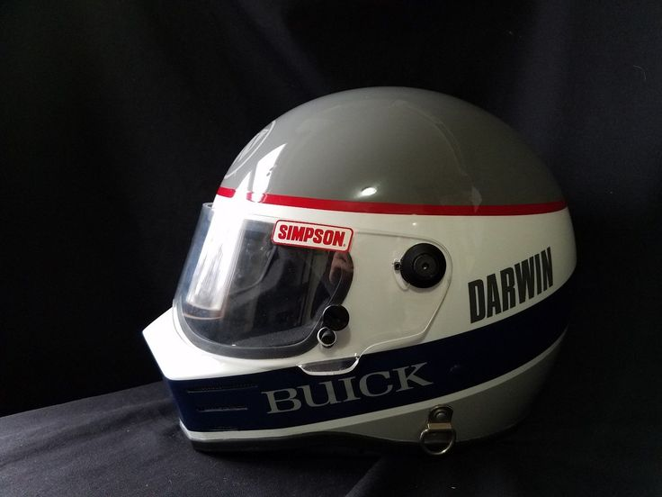 SIMPSON Racing Helmet featuring BUICK comes with zippered carrying bag in Automotive, Parts & Accessories, Performance & Racing Parts, Safety Equipment, Helmets | eBay
