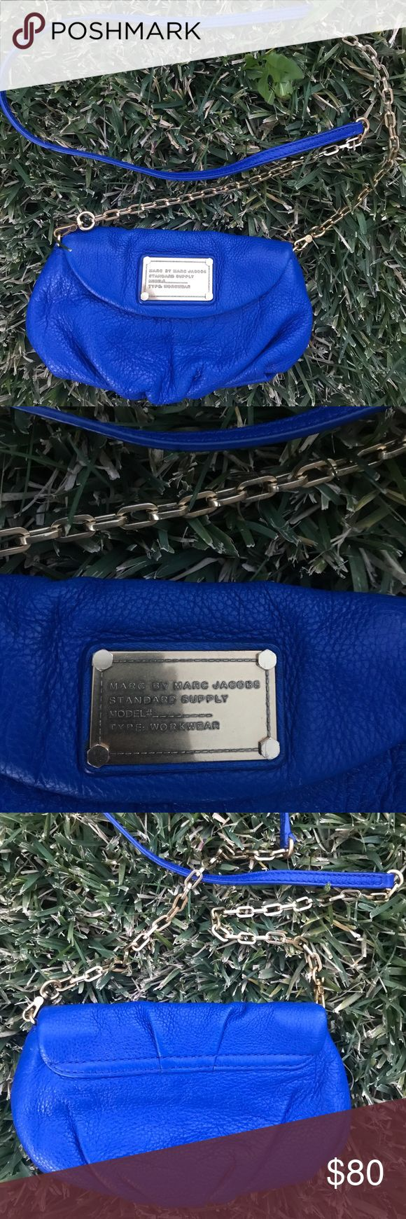 Marc by Marc Jacobs Q Karlie royal blue crossbody Brand new with out tags! NO TRADES. The hard ware is GOLD. Just hard tell in perfect condition. Marc by Marc Jacobs Bags