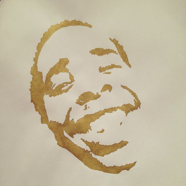 Earl Sweatshirt, Gold marker, A4