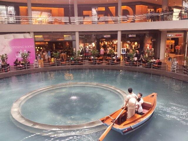 Sampan Rise Inside Bay Resort Shopping Mall Singapore