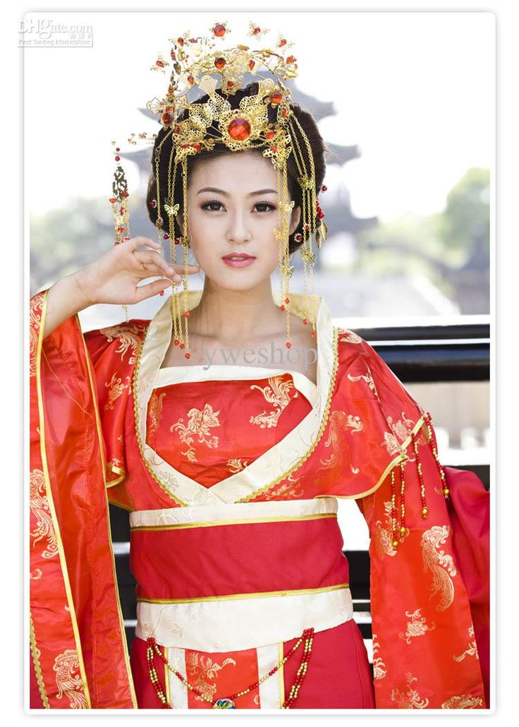 Fresh Chinese wedding dresses Traditional Dress Fell in love with China Chinese