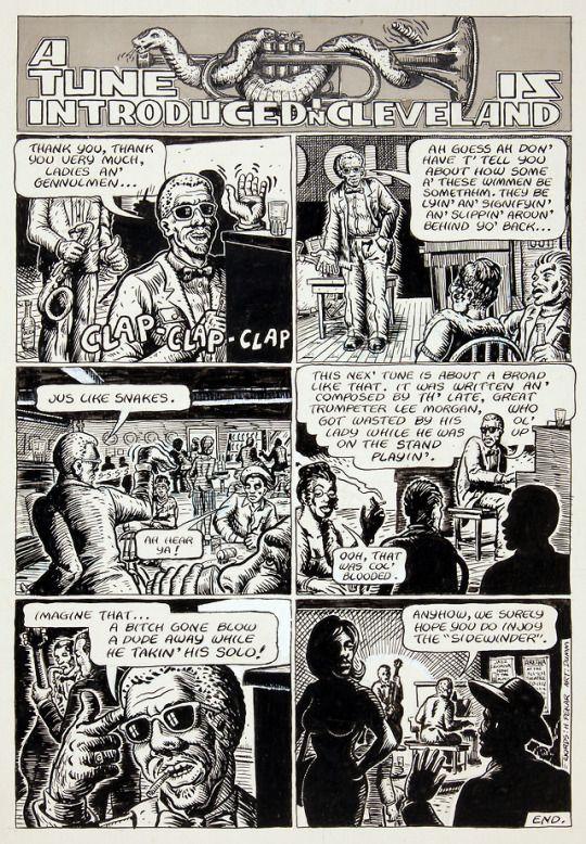 From American Splendor #1. Harvey Pekar & Gary Dumm.
