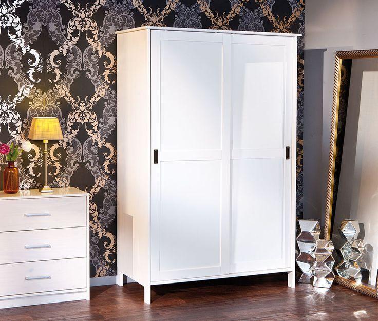 Schlafzimmerschrank schiebetür weiß  Die besten 25+ Kleiderschrank weiß schiebetüren Ideen auf ...