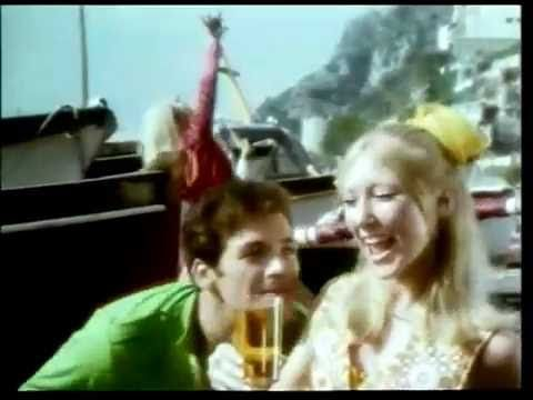 Woodpecker Cider - Groovy Boat (1969, UK) Back in the late 60's, nearly every ad on TV kept with the times by pushing the rapid-fire energy and funk it was known best for. This is an example of that.