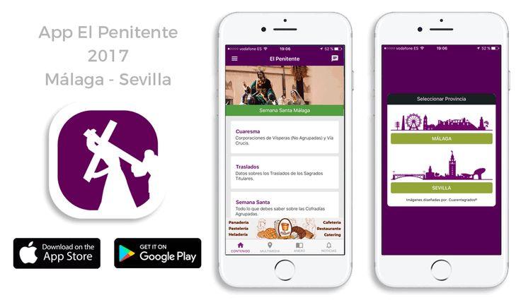 App El Penitente 2017 Semana Santa #Málaga #Sevilla #semanasanta