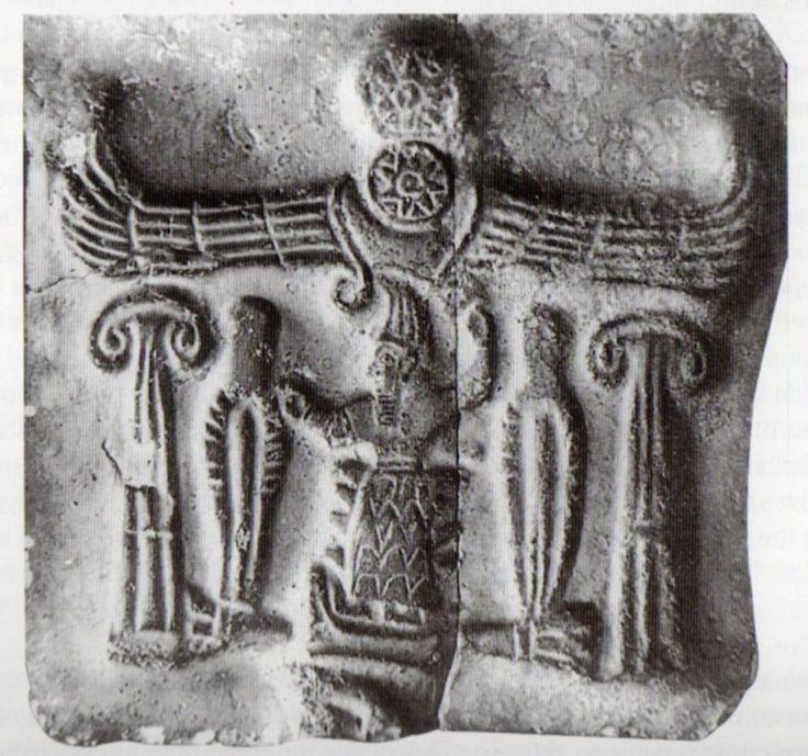 Hieroglyphs identifying King Tudhaliyas IV (Erdinç Bakla archive)