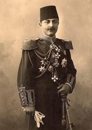 Cevat Paşa(Çobanlı)'nın pek nadide bir fotoğrafı.