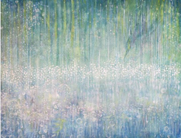 Cette petite fille autiste réalise de superbes tableaux dignes des plus grands peintres impressionnistes