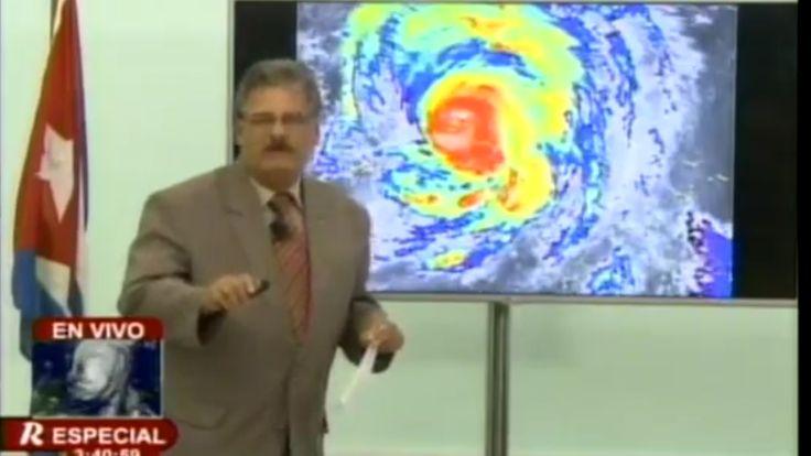 La particular cobertura de la televisión oficial cubana sobre el huracán Irma