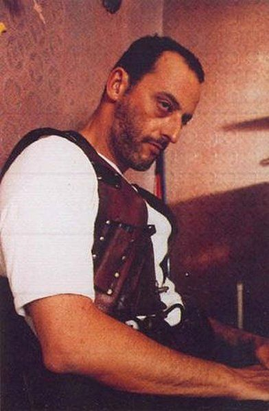 Jean Reno - Not textbook handsome, but his voice is like melted chocolate and nutella over lava. That's a good thing.