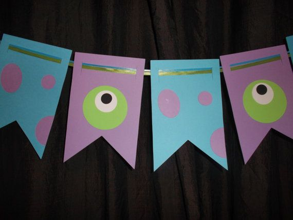 Monsters Inc. banner Sully and Mike banner by ThePaperdollPrincess