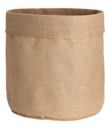 Large Jute Storage Bag at H