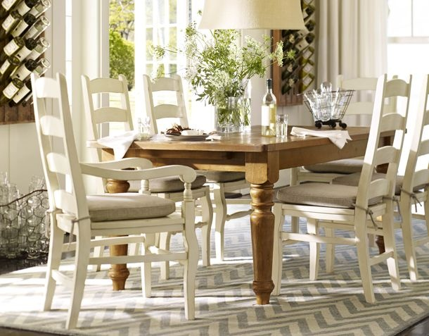 dining room pottery barn dining room pinterest pine table chairs and dining rooms. Black Bedroom Furniture Sets. Home Design Ideas