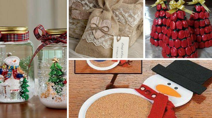 10+ Ideias de Lembrancinhas para o Natal