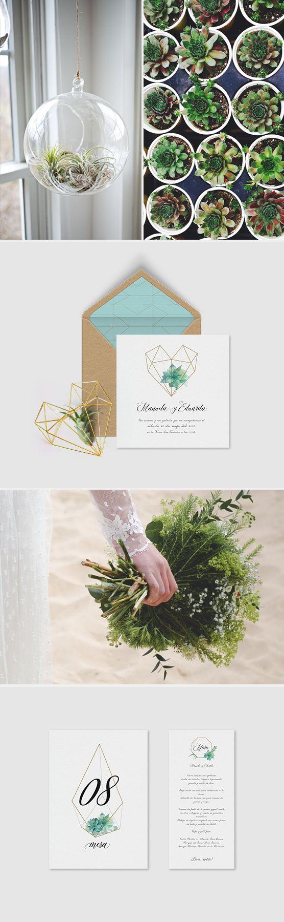 Estudio especializado en la papelería creativa para eventos especiales. Invitaciones de boda de tendencia.