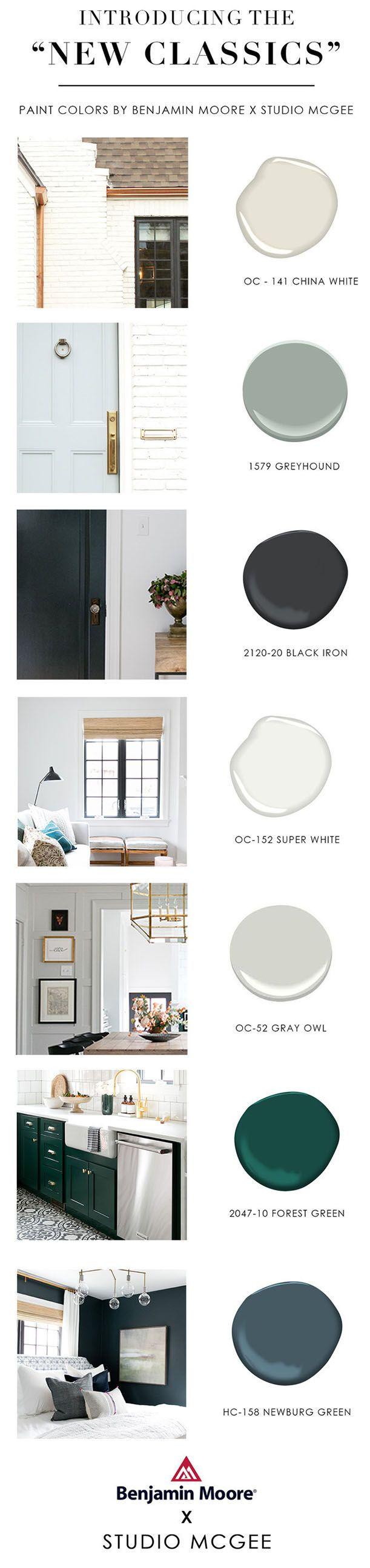 Friday Finds Vol. 28: The New Classics // Paint Colours By Studio McGee