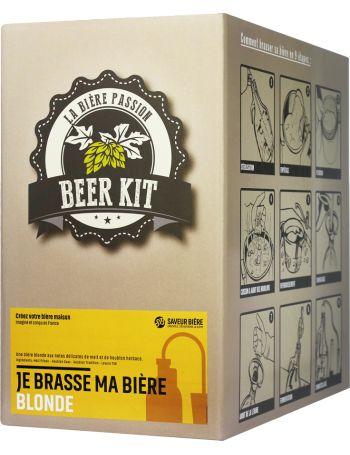 Beer Kit, je brasse une pils blonde !: Le pack de brassage idéal pour les amateurs & débutants incluant tous les éléments indispensables pour brasser 4L de bière Pils blondeà la maison !