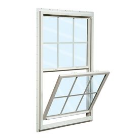 ReliaBilt�32-in x 54-in 150 Series Vinyl Double Pane New Construction Single Hung Window Laundry room/ mudroom window
