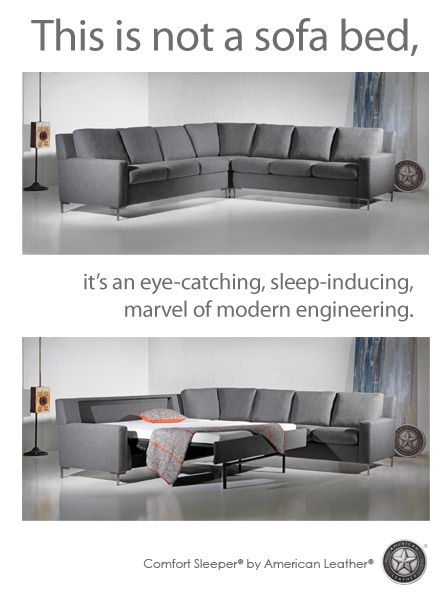 American Leather is supposed to have the best sleeper sofas. There is a dealer in Orem.