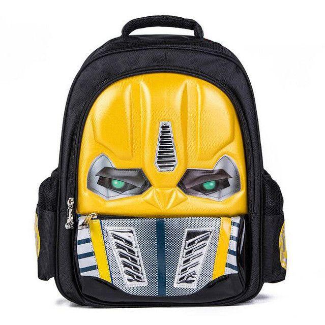 LED Flashing Light EVA 3D New Cartoon School Bags For Boys Little Children Backpacks Kids SchoolBag Cool Backpack School Bag