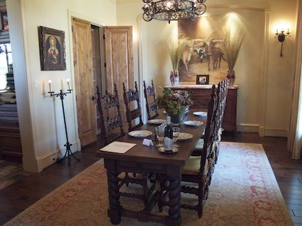 decor for interior of spanish colonial homes | LOVE WHERE YOU LIVE: ASID Showhouse in Missouri City, Texas! Take the ...