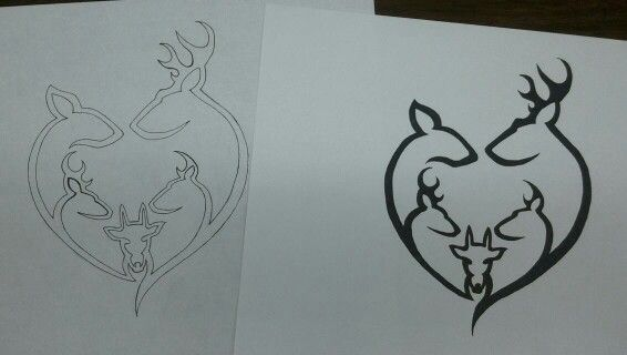 Family tribal tattoo design for a friend at work my for Tribal tattoos that represent family