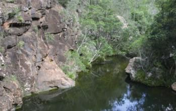 Rocky Hole, Mount Mee section of D'Aguilar National Park. Photo: NPSR.