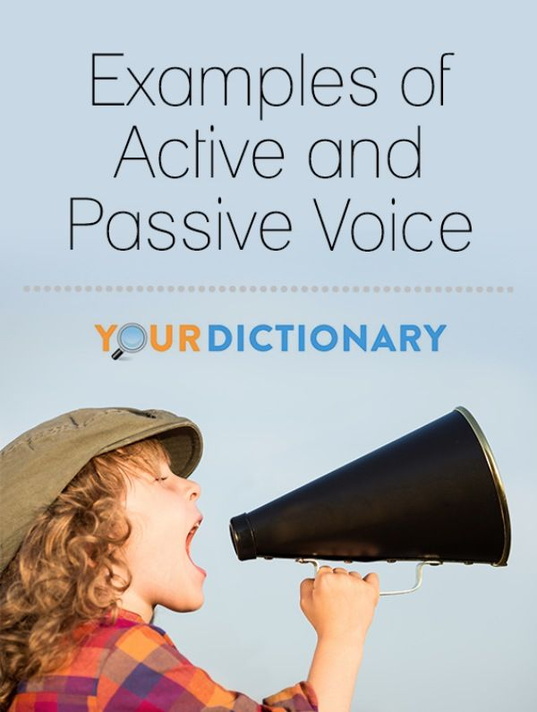 Active voice describes a sentence where the subject performs the action stated by the verb.  In passive voice sentences, the subject is acted upon by the verb. Check out these examples for help with #PassiveVoice!   Examples of Active and Passive Voice from #YourDictionary